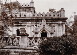 Parapet of Bidagat-taik, [Mandalay]